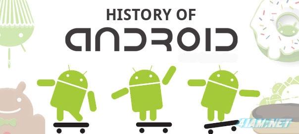 История Android на одном изображении