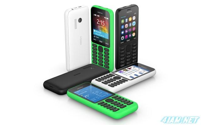Microsoft Nokia 215 3 colors