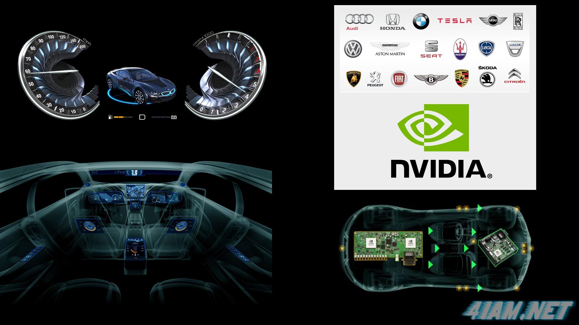 NVIDIA Drive CX и PX - платформы для автомобилей