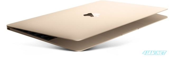 Apple MacBook Hero Static Gold