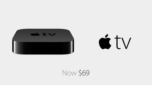 Apple TV Now $69