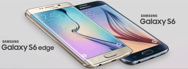 Samsung Galaxy S6 and S6 Edge Logo