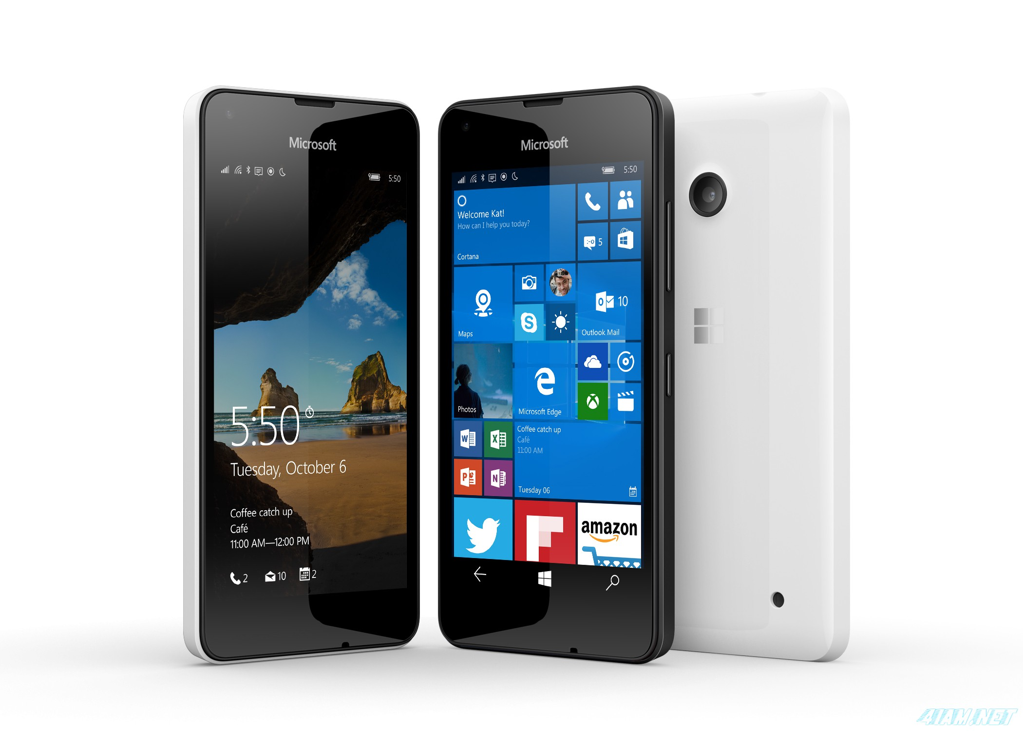 Microsoft представила Lumia 550, 950 и 950 XL на Windows 10 Mobile