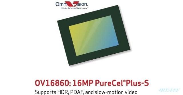 OmniVision OV16860 (16MP, 4k 60fps) Sensor