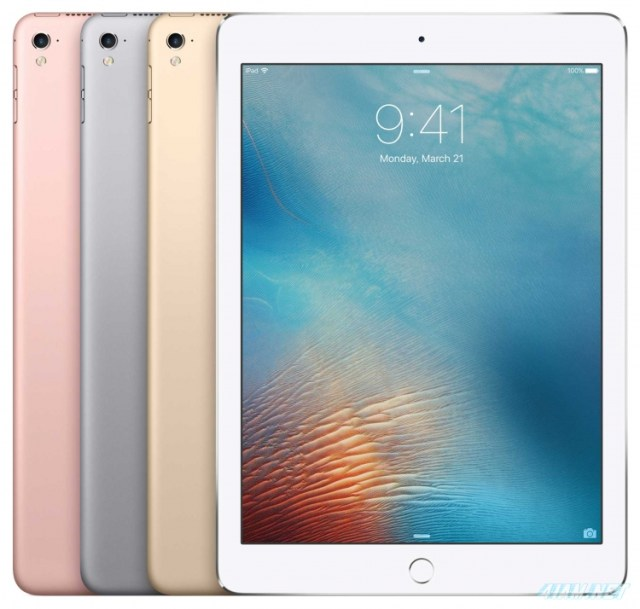 Apple iPad Pro 9.7 Colors