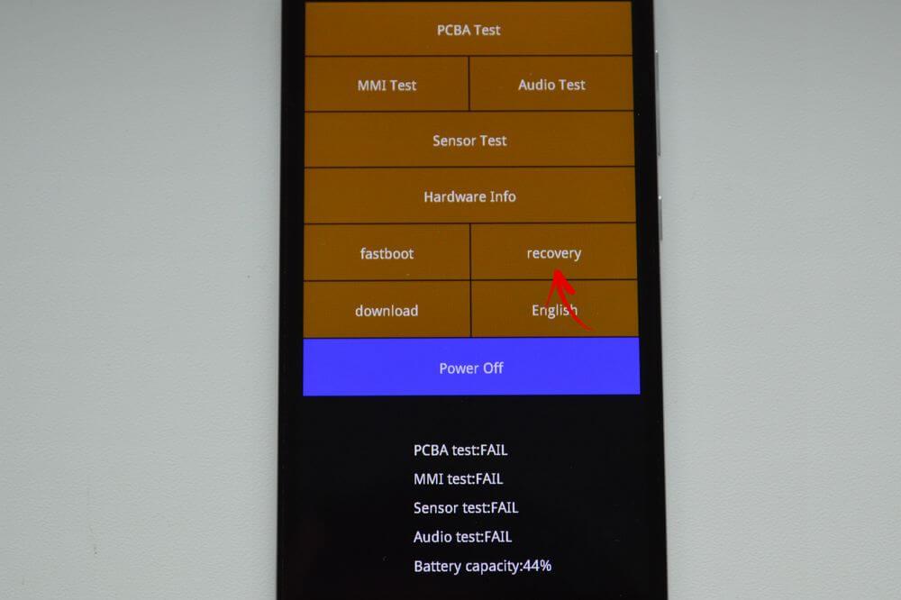 Xiaomi Mérnöki menü