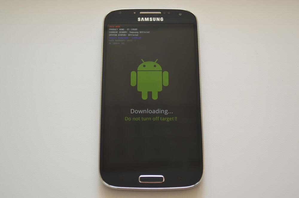 downloading mode android