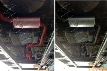 intrepid exhaust выхлопная система в сборе