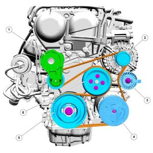 ремень Ford Kuga 1,6 JQMB