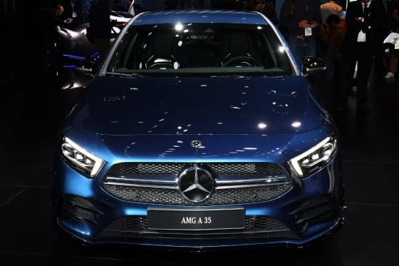 face Mercedes-AMG A35 2019