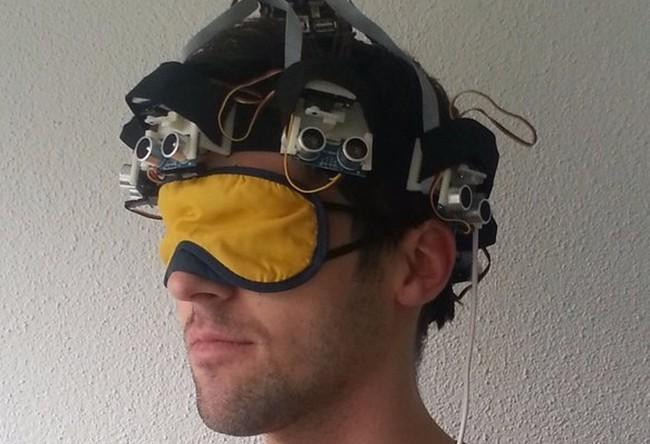 Шапка-гид для слепых людей «Proximity Hat»