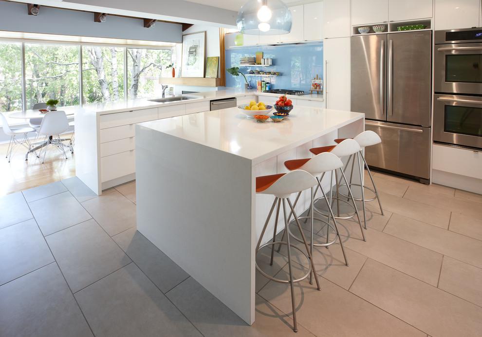 Ridge Hill Kitchen by Lisa Lev Design