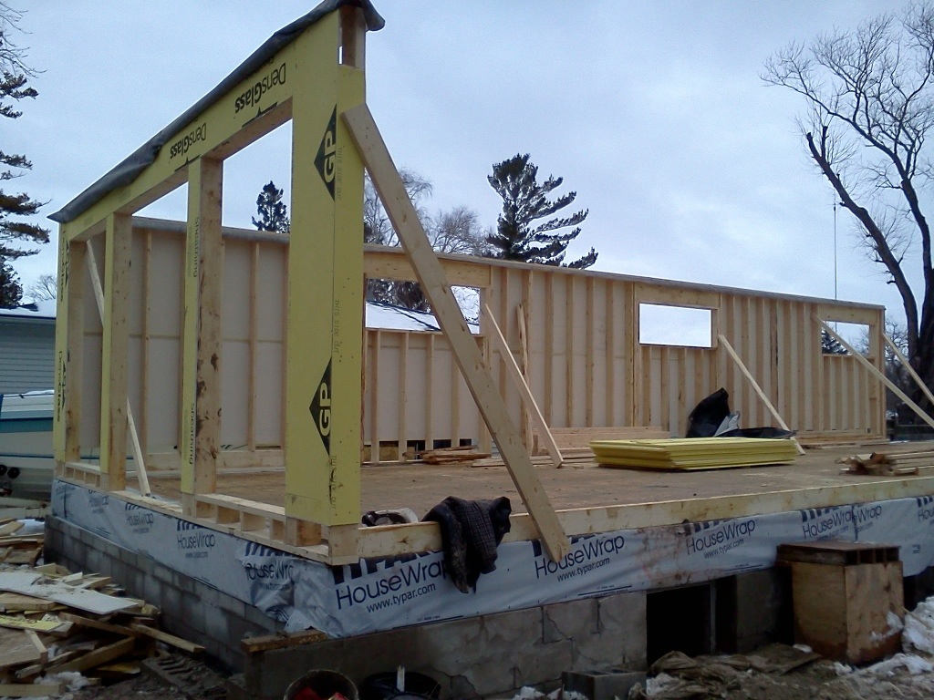 Ground floor framing getting started