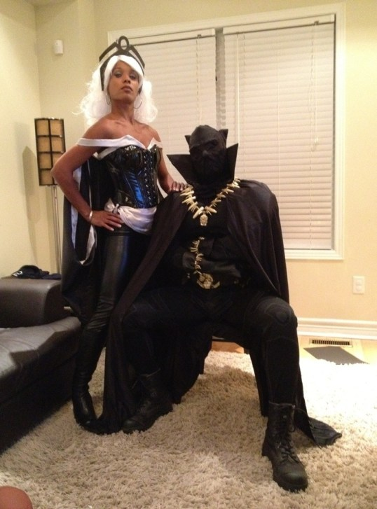 Storm & Black Panther