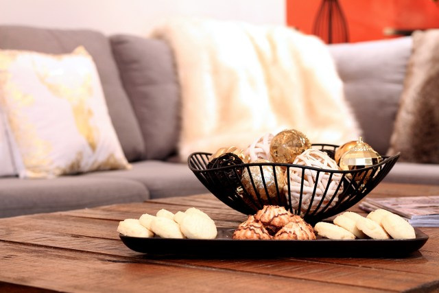 Dreamhouse Project Christmas family room accessories