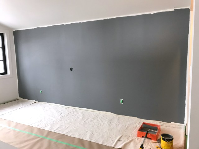 Wall painted in PARA Color Journeys Philosophical (412E)