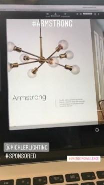 Kichler Armstrong 10 Light Chandelier