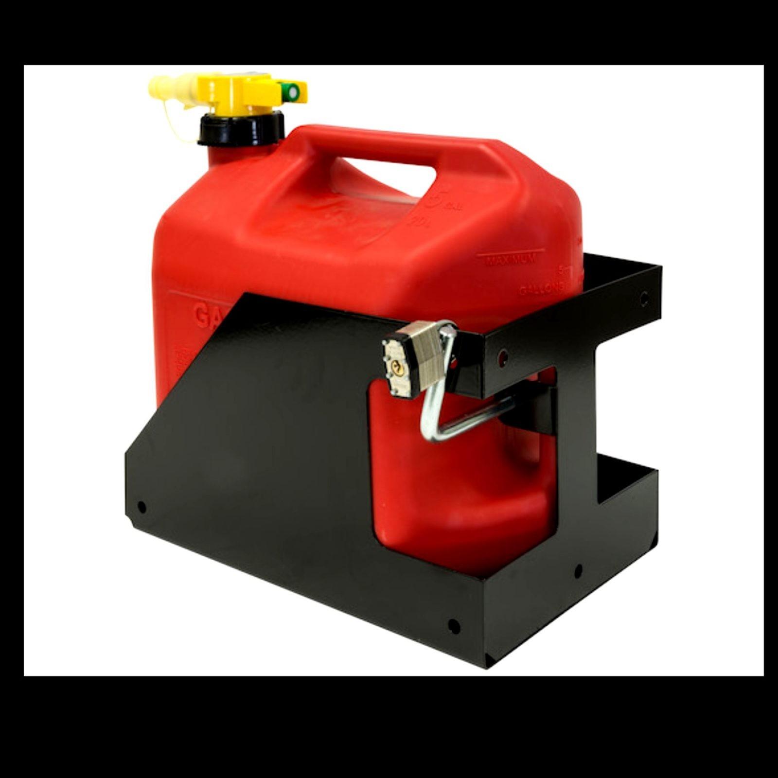 Buyers LT32 Blitz 5-Gallon Poly Gas Can Landscape Truck /& Trailer Locking Rack