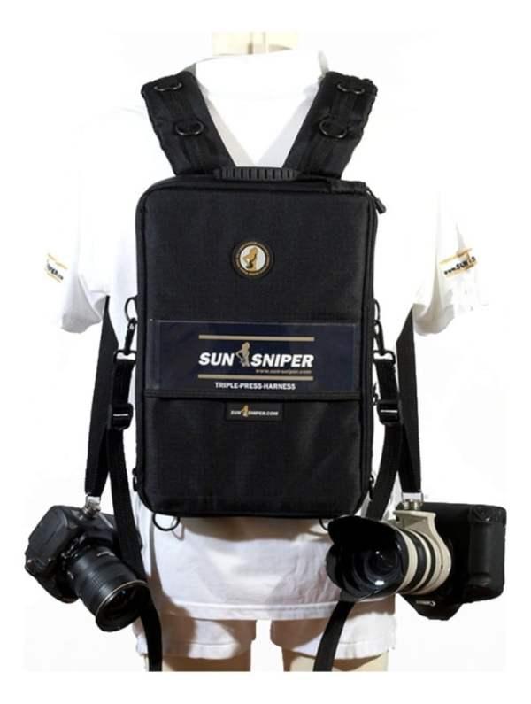 Sun-Sniper Ruscsac Foto Triplu