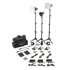 Dedolight SLT3-3-BI-S Kit iluminare 3 lumini LED Bicolor Standard