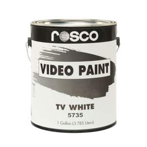 Rosco TV White - vopsea 3,8 l pentru studiouri TV
