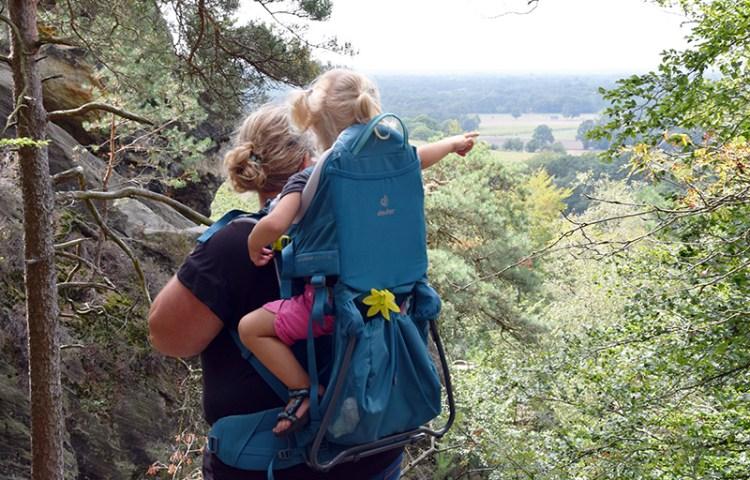 Getest: de Deuter Kid Comfort Active SL kinderdrager voor vrouwen