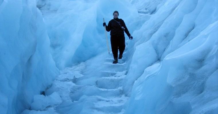 Spectaculaire gletsjer hike met kinderen in Nieuw-Zeeland