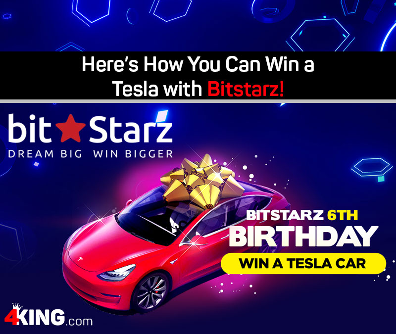 Here's How You Can Win a Tesla with Bitstarz!