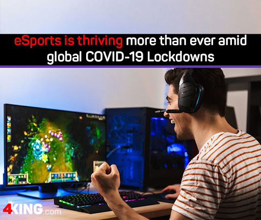 eSports thriving more than ever amid global COVID-19