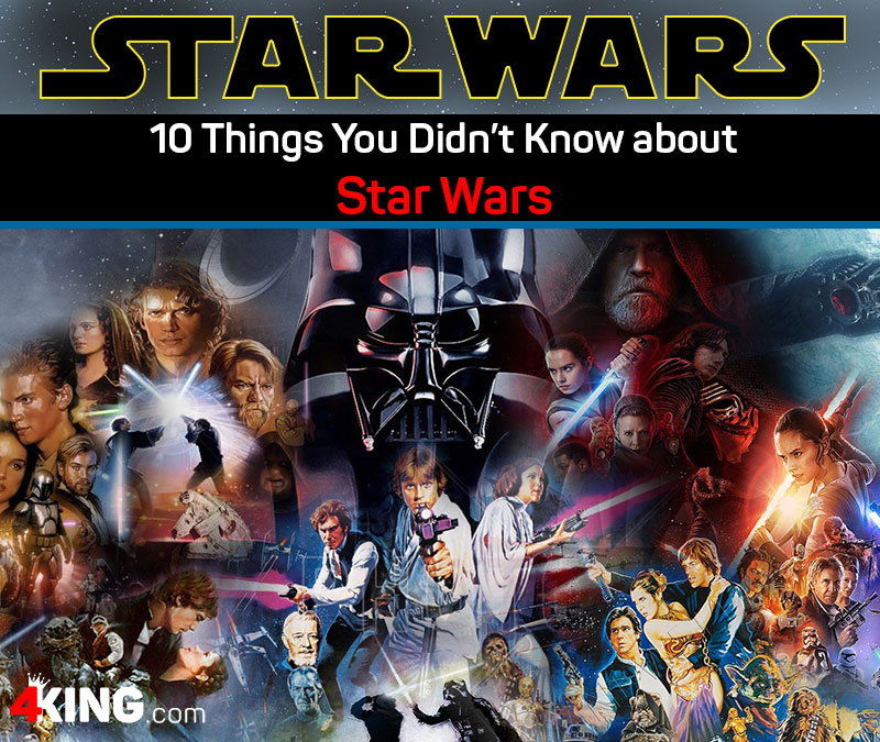 10 things you didn't know about Star Wars