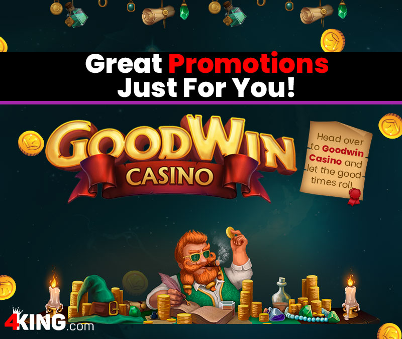 Goodwin Casino has great promotions just for you!