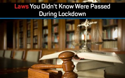 Laws You Didn't Know Were Passed During Lockdown