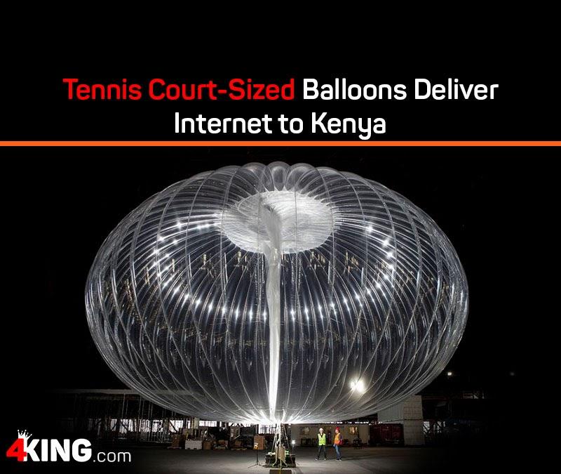 deliver internet to Kenya