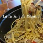 【料理】ニンニクとオリーブオイルとペペロンチーノとアサリのボンゴレパスタ