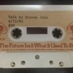 スティーブ・ジョブズ、30年前のコンピュータ業界予測の音声が公開! スティーブ・ジョブズ氏が1983年に行った講演の全録音が公開–驚くべき先見性