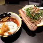 【グルメ】ベーコンエッグつけ麺 麺屋武蔵がまたしても暴挙!? 春限定の「ベーコンエッグつけ麺」という斬新メニューを販売中 | ロケットニュース24