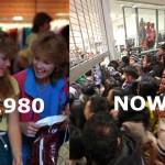 買い物ゾンビの出現!30年前のブラックフライデーでの買い物比較