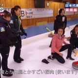 カーリングのデリバリーって、浅田舞さんでも転ぶほどむずかしかった!