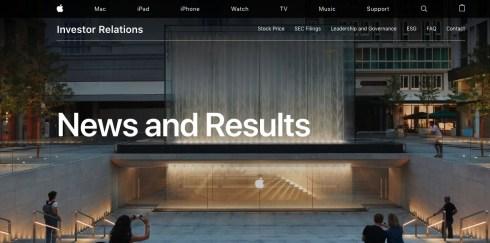 Apple's IR
