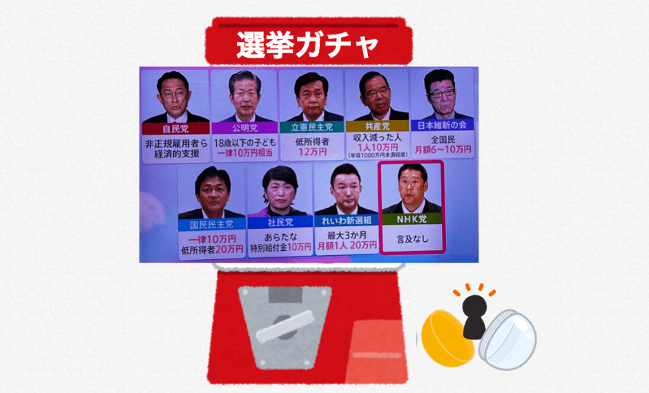 選挙ガチャ