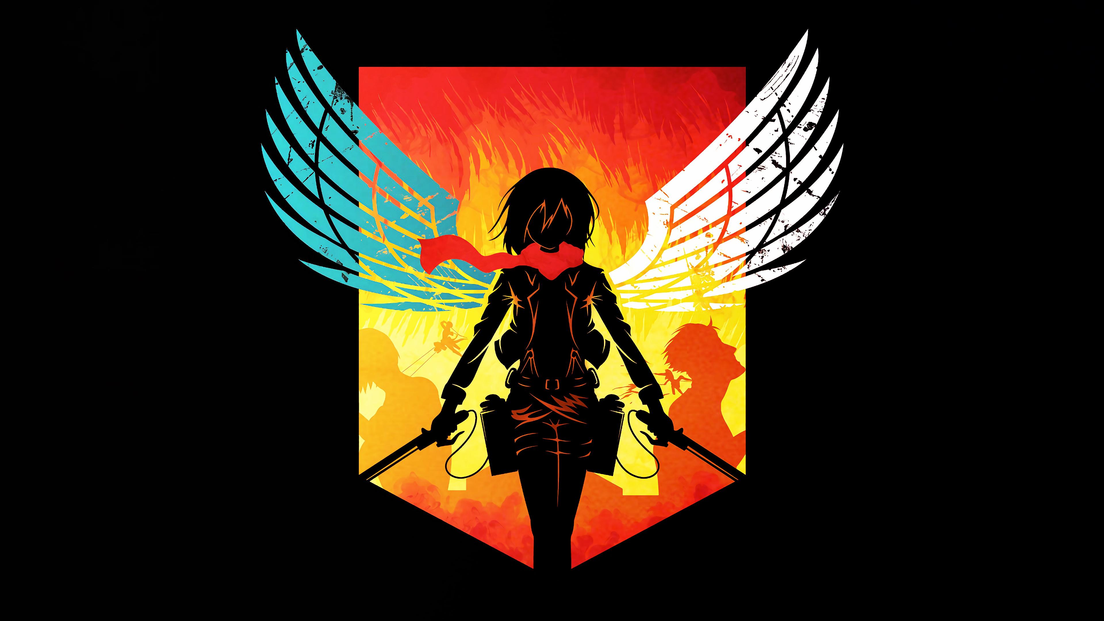 Attack on titan season 4 wallpaper · aot wallpaper garrison regiment. Attack on Titan 4K Wallpaper, Shingeki no Kyojin, Mikasa ...