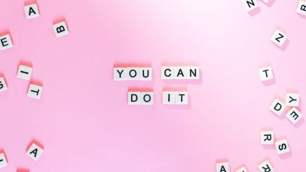 You Can Do It 4K Wallpaper Pink background Girly backgrounds Motivational Popular quotes Letters Quotes #2612