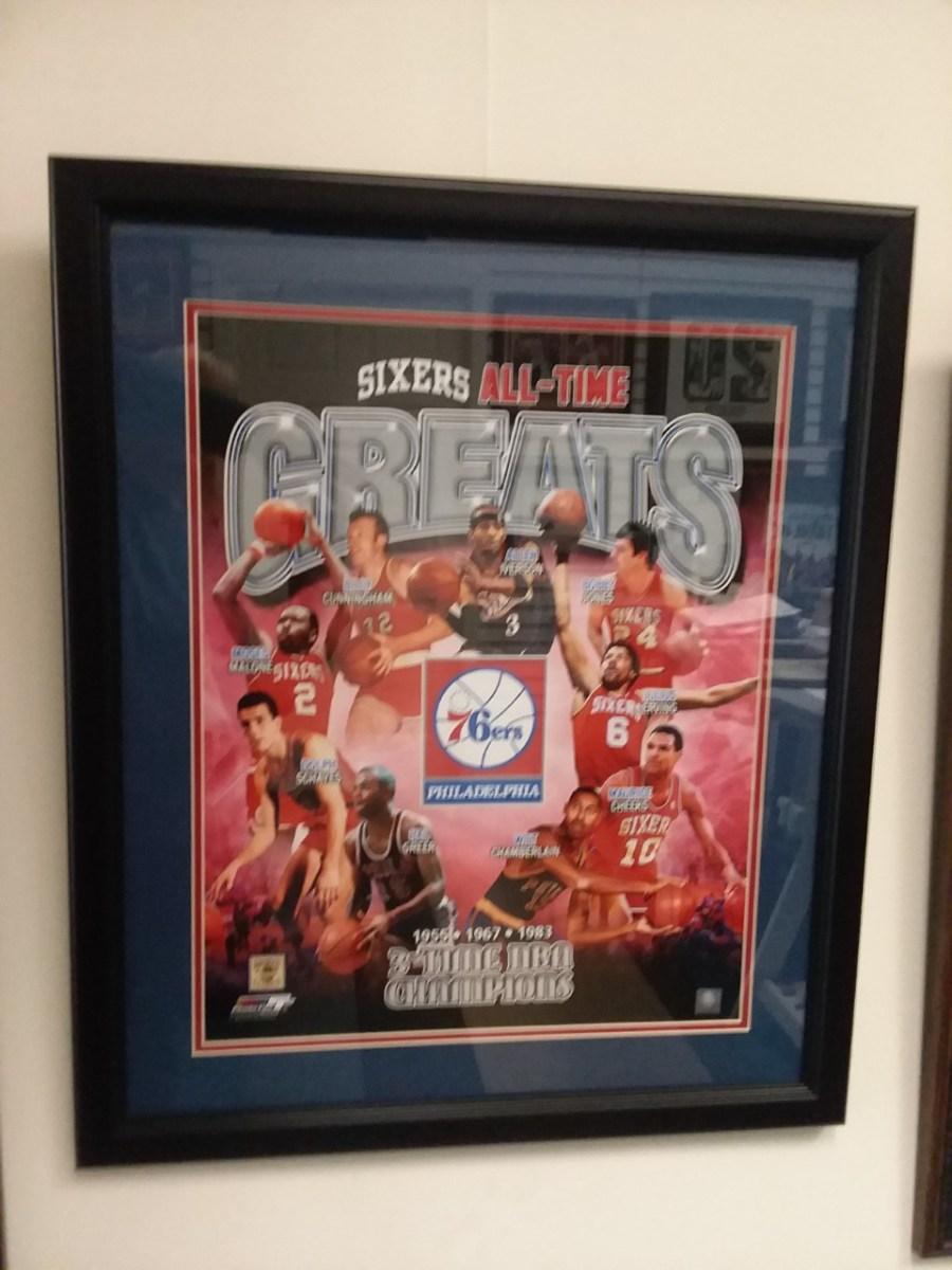 76ers All Time Greats