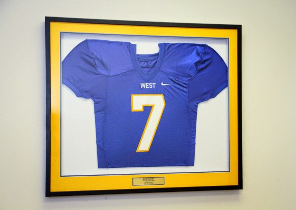 Custom Framed Jersey
