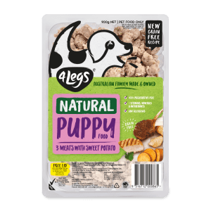 4Legs Natural Grain Free Puppy Tray 900g