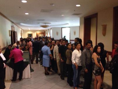 Fotos de lobby evento Hotel Holiday by 4life Nicaragua