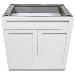 Outdoor Kitchen Drawers Island Table For Drawer Plus 2 Door Cabinet W40052 4