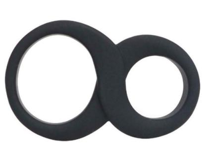 Stretchy Silicone Cock Ring and Ball Ring