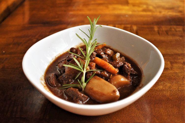 Potato and Beef Soup