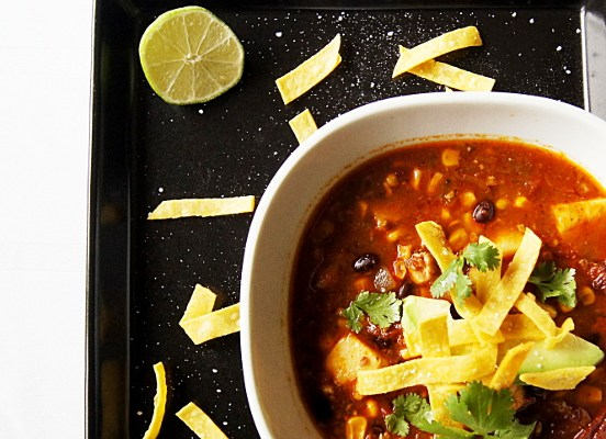 Spicy Mexican Chicken Soup